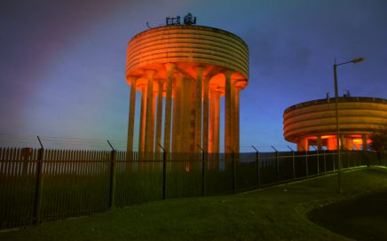 Garthamlock Water Towers