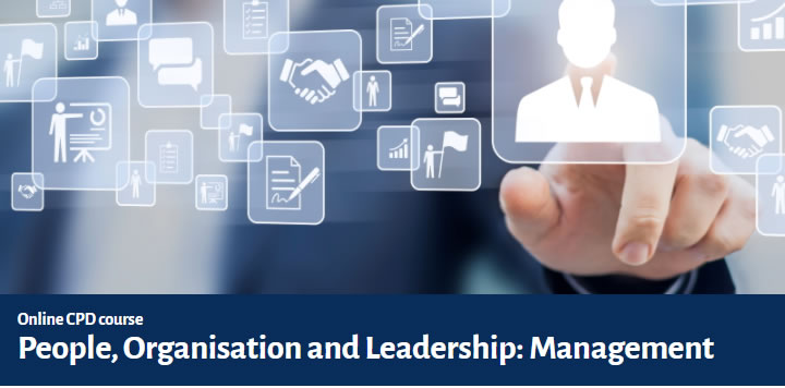 People, Organisation and Leadership - Management